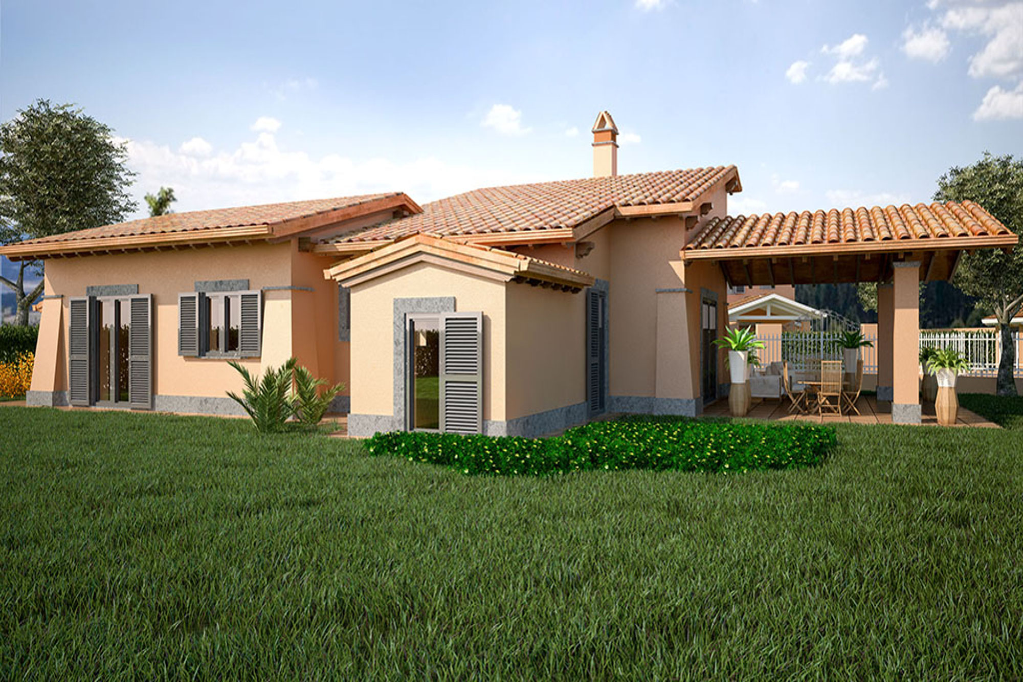 Formello, via della Selviata 72, Villa monofamiliare in vendita, depancance e piscina.